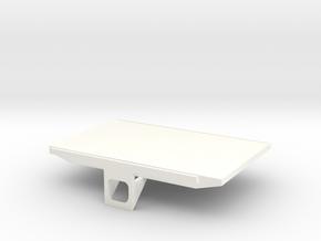Lcd40 in White Processed Versatile Plastic