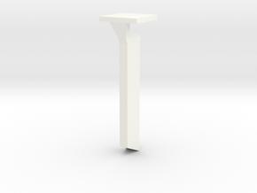 Sound Bar - side speaker in White Strong & Flexible Polished