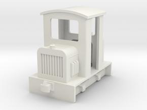 HOf diesel loco 3 in White Natural Versatile Plastic