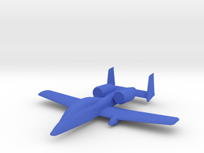 A-10 Warthog in Blue Processed Versatile Plastic: 1:600