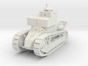 PV169 M1917 Signal Tank (1/48) in White Natural Versatile Plastic