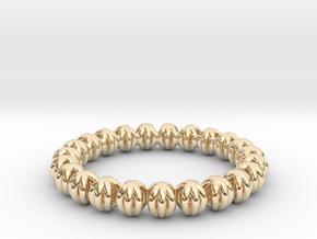 Bracelet Of Circles V2.5 in 14K Yellow Gold