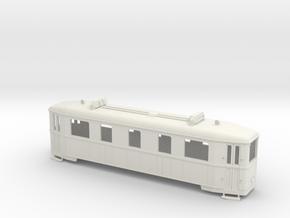 HAWA Triebwagen Spur  0f (1:45) in White Natural Versatile Plastic