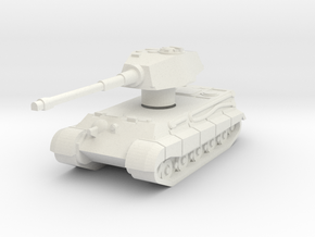 Kingtiger ausf.b Henschel with Rotatable turret in White Strong & Flexible