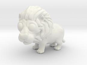 Breedingkit Lion in White Natural Versatile Plastic