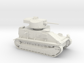 Vickers Medium MkII* 28mm in White Natural Versatile Plastic