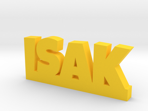 ISAK Lucky in Yellow Processed Versatile Plastic