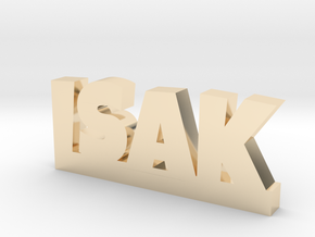 ISAK Lucky in 14k Gold Plated Brass