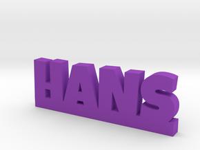 HANS Lucky in Purple Processed Versatile Plastic