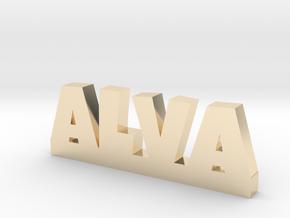 ALVA Lucky in 14k Gold Plated Brass
