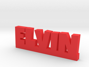ELVIN Lucky in Red Processed Versatile Plastic
