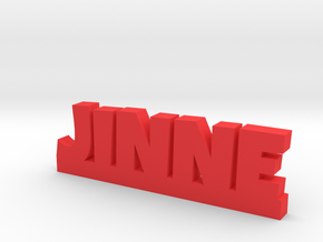 JINNE Lucky in Red Processed Versatile Plastic