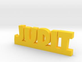 JUDIT Lucky in Yellow Processed Versatile Plastic