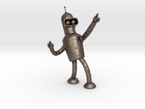 Bender in Polished Bronzed Silver Steel