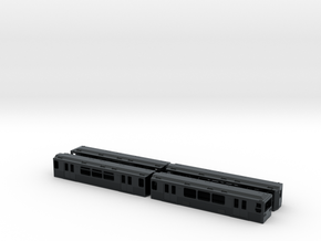 Berlin Baureihe G N-scale [4x body] in Black Hi-Def Acrylate