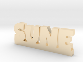 SUNE Lucky in 14k Gold Plated Brass