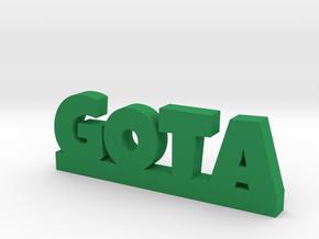 GOTA Lucky in Green Processed Versatile Plastic