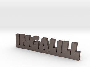 INGALILL Lucky in Polished Bronzed Silver Steel