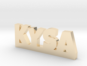 KYSA Lucky in 14k Gold Plated Brass