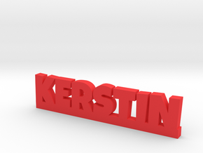 KERSTIN Lucky in Red Processed Versatile Plastic