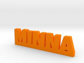 MINNA Lucky in Orange Strong & Flexible Polished