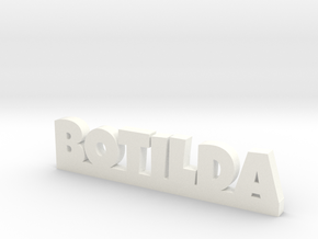 BOTILDA Lucky in White Strong & Flexible Polished