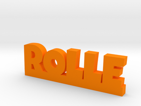 ROLLE Lucky in Orange Processed Versatile Plastic