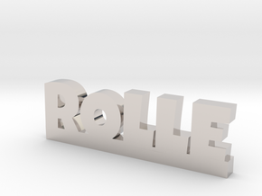 ROLLE Lucky in Rhodium Plated Brass