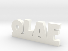 OLAF Lucky in White Processed Versatile Plastic
