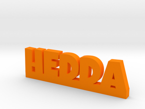 HEDDA Lucky in Orange Strong & Flexible Polished