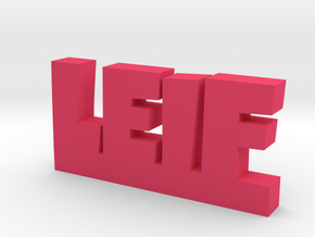 LEIF Lucky in Pink Strong & Flexible Polished