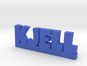 KJELL Lucky in Blue Strong & Flexible Polished