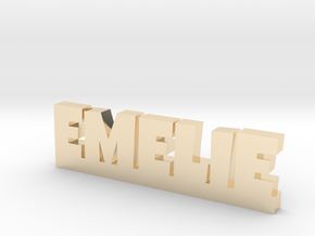 EMELIE Lucky in 14k Gold Plated Brass