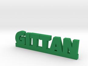 GITTAN Lucky in Green Processed Versatile Plastic