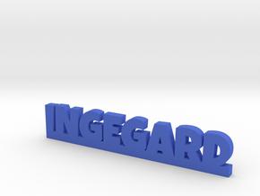 INGEGARD Lucky in Blue Processed Versatile Plastic