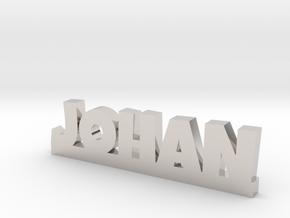 JOHAN Lucky in Rhodium Plated Brass