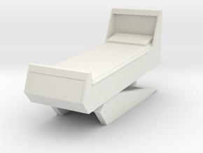 Sickbay Bed (Star Trek Classic), 1/18 in White Natural Versatile Plastic