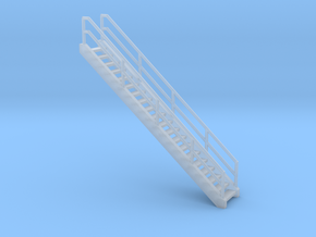 'N Scale' - Ethanol Fill Station Stairs in Smooth Fine Detail Plastic