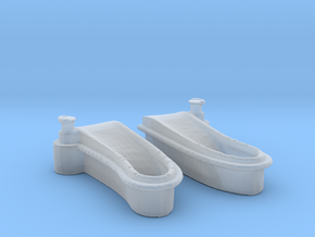 1/144 Windlass Foredeck in Smooth Fine Detail Plastic