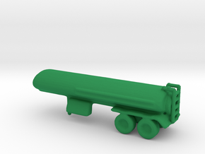 1/200 Scale M967 Semitrailer Tanker in Green Strong & Flexible Polished