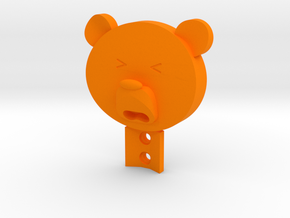 BEARO in Orange Processed Versatile Plastic