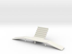 Pharoahs's Fury loading ramps  in White Strong & Flexible