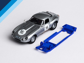 1/32 Monogram Jaguar E-type Chassis Slot.it IL pod in Blue Processed Versatile Plastic