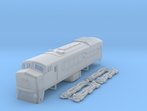 N Scale RF-615e locomotive in Frosted Ultra Detail