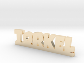 TORKEL Lucky in 14k Gold Plated Brass