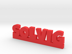 SOLVIG Lucky in Red Processed Versatile Plastic