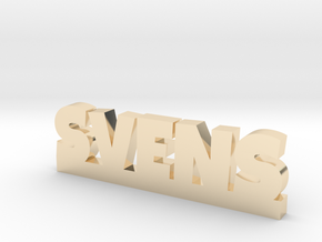 SVENS Lucky in 14k Gold Plated Brass
