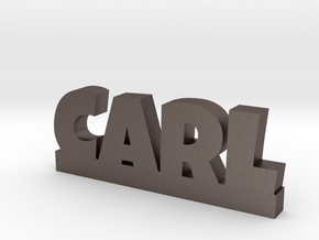 CARL Lucky in Polished Bronzed Silver Steel