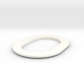 PN Wessex Grill Vent in White Processed Versatile Plastic