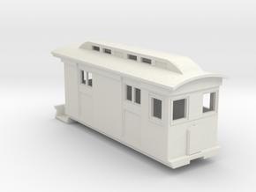 HOn30/OO9 Freight Doodlebug/Railmotor (Megan 2) in White Natural Versatile Plastic